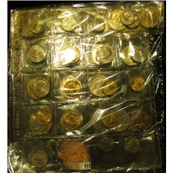 (5) 1971 D, 72 D, 74 D, & (14) BU 1976 D T.2 Eisenhower Dollars; (7) 1979 D Susan B. Anthony Dollars