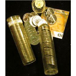 (80) Gem BU 1865 Canada Nickels in plastic tubes.