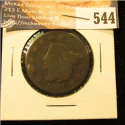 1827 U.S. Large Cent, AG.