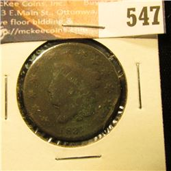 1831 U.S. Large Cent, G.