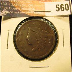 1836 U.S. Large Cent, G.
