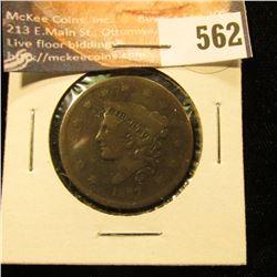1837 U.S. Large Cent, AG.