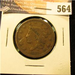 1837 U.S. Large Cent, G.