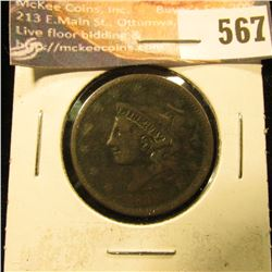 1838 U.S. Large Cent, G.