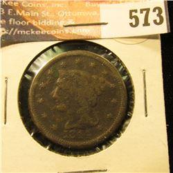 1844 U.S. Large Cent, G.
