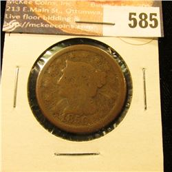 1850 U.S. Large Cent, G.