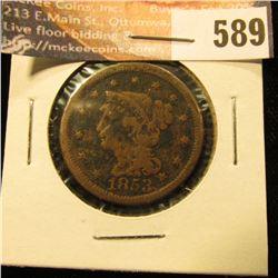 1853 U.S. Large Cent, G.