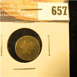 1853 3-Cent Silver, G.