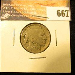 1914 S Buffalo Nickel, VG.