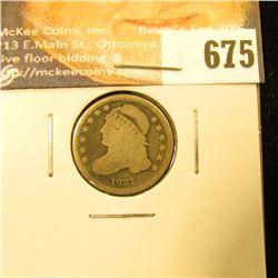1837 Bust Dime. G.