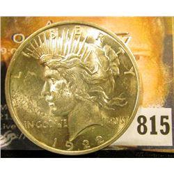 1922 P U.S. Peace Silver Dollar, BU.
