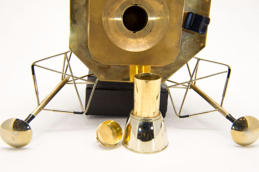 Buzz Aldrin's Apollo 11 Cartier Solid Gold Lunar Module Replica