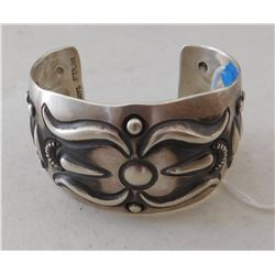 Sterling Silver Bump Out Cuff