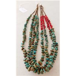 4 Strand Heishi Necklace