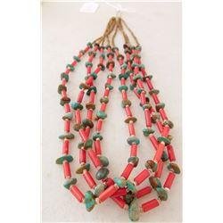 4 Strand Heishi Necklace
