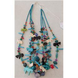 4 Strand Healing Fetish Necklace