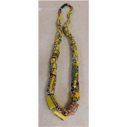 Millefiori Trade Bead Necklace