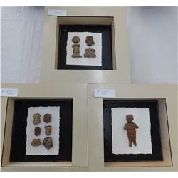 Pre-Columbian Pottery Figures