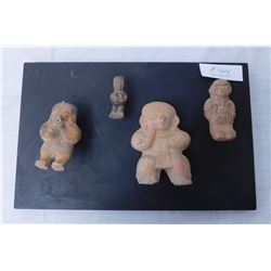Pre-Columbian Clay Figures