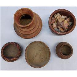 5 Pre-Columbian Pots