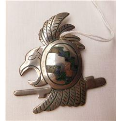 Taxco S.S. Bird Pin or Pendant