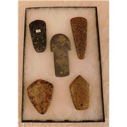 5 Stone Pendants