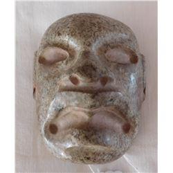 Olmec Jadeite Mask