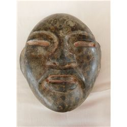 Olmec Green Mask