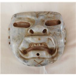 Olmec Translucent Jade Mask