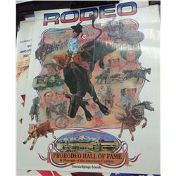 Group of 12 Rodeo Posters