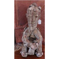 Dogon Male Seated Figure