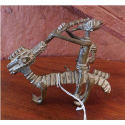 Dogon Animal-with-Rider Bronze