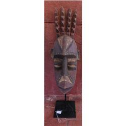 Bobo Wood Mask w/Stand