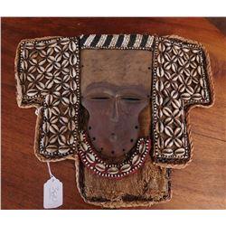 Bassa Cowrie Shell Mask