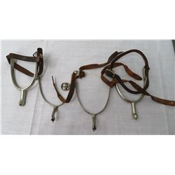 2 Pair of Spurs