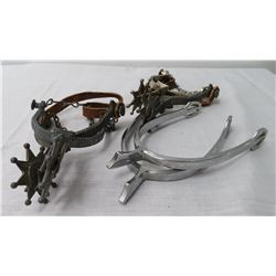 3 Misc Pairs of Spurs