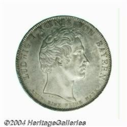 Bavaria. Ludwig I taler 1831 Commemorating the