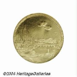 Frankfurt. Gold Contribution ducat 1796. View