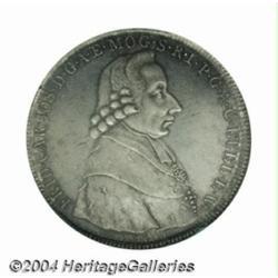 Mainz. Friedrich Karl Josef 1/2 taler 1795IA,