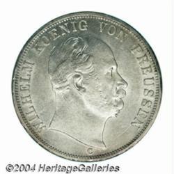 Prussia. Wilhelm I 2 taler 1867C,Bust