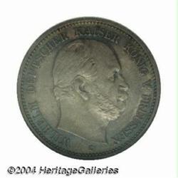 Prussia. Wilhelm I 2 mark 1877C, Bust