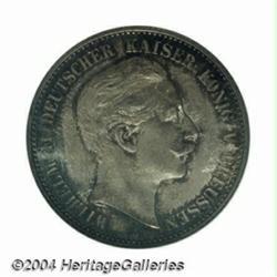 Prussia. Wilhelm II 2 Mark 1888A, KM511, MS64