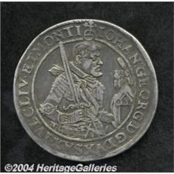 Saxony. Johann Georg Taler 1627-HI, Dav-7601,