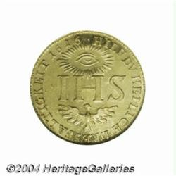 Saxony. Sophia gold ducat 1616, Crowned
