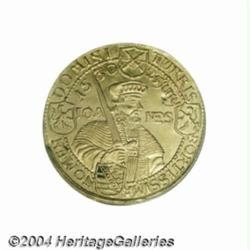 Saxony. Augsburg Confession gold ducat 1630,
