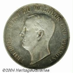 Waldeck-Pyrmont. Friedrich 5 Mark 1903A,