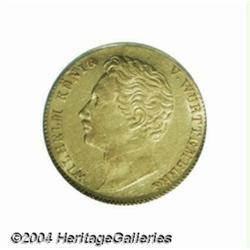 Wurttemberg. Wilhelm I gold ducat 1841, Bust