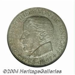 Federal Republic Eichendorff 5 Mark 1957J,