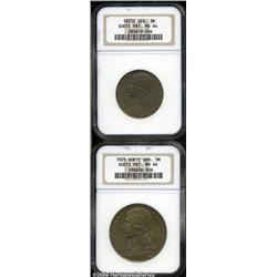 Goetz Pattern pair in copper as follows: 3