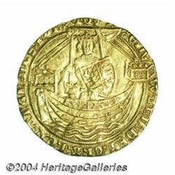 Edward III (1327-77) gold Noble, Treaty Period